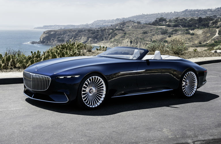 Photo Gallery Of The Vision Mercedes Maybach 6 Cabriolet