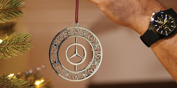 Mercedes benz and bmw lifestyle clothing and accessories for Mercedes benz christmas ornament
