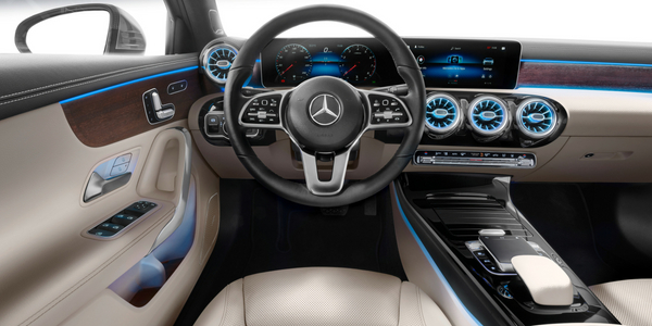 Pictures Of The 2019 Mercedes Benz A Class Interior And Exterior