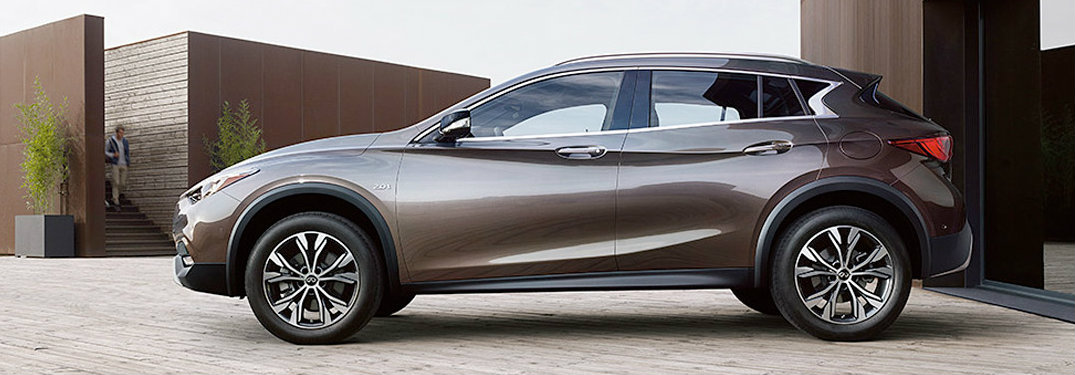 2017 Infiniti QX30 in Brown - Side View