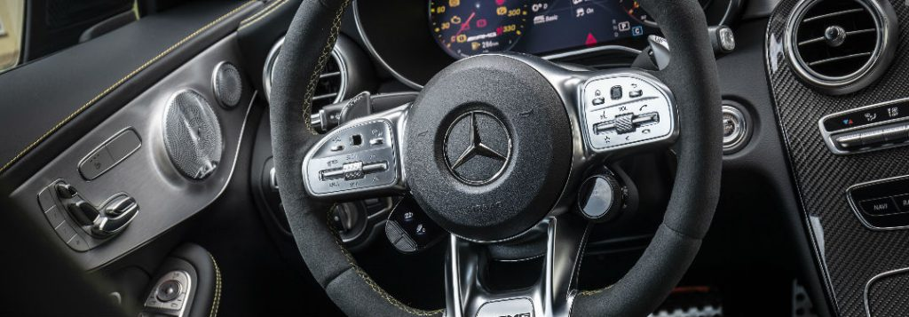 Toyota Of Plano >> How To Use the Mercedes-Benz C-Class Paddle Shifters