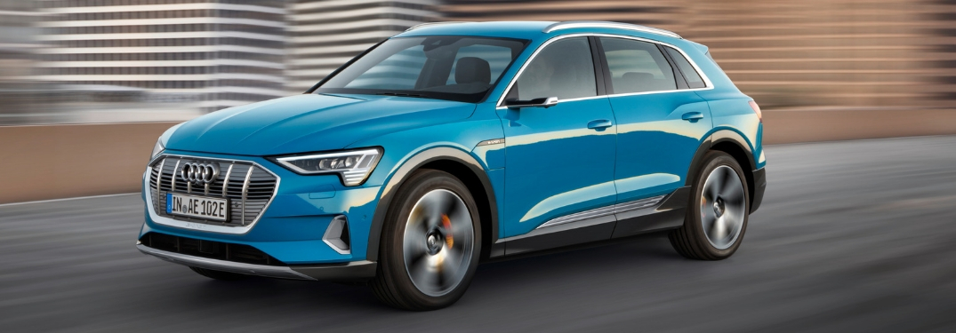 All-New, All-Electric Audi e-tron Combines Performance and Efficiency