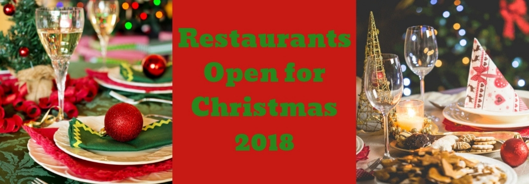 Where To Eat Christmas Dinner in the DFW Area in 2018