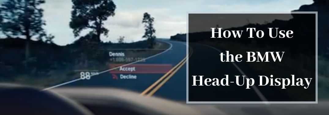 How Does the BMW Head-Up Display Feature Work?