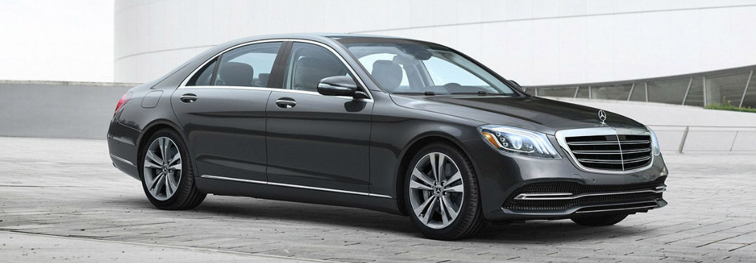2020 Merecedes-Benz S-Class side profile