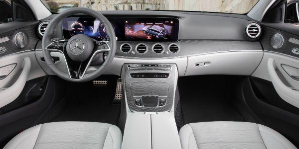 2021 Mercedes-Benz E-Class Wagon Front Interior