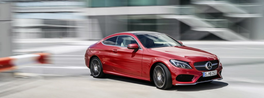 2017 mercedes benz c class coupe preview for Mercedes benz service coupons 2017