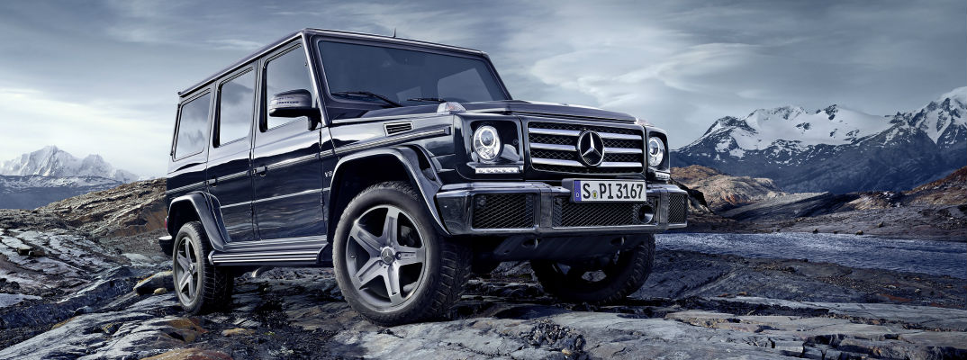 2017 Mercedes-Benz G-Class Model Specifications