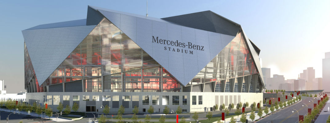 Mercedes benz stadium atlanta for Mercedes benz dealers atlanta