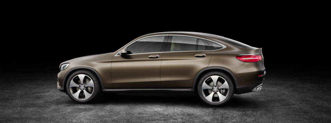 2017 mercedes benz glc coupe revealed. Black Bedroom Furniture Sets. Home Design Ideas