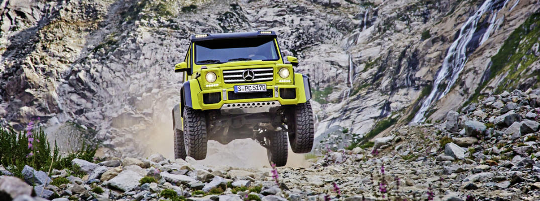 2017 Mercedes-Benz G550 4X4 Squared United States Release Date
