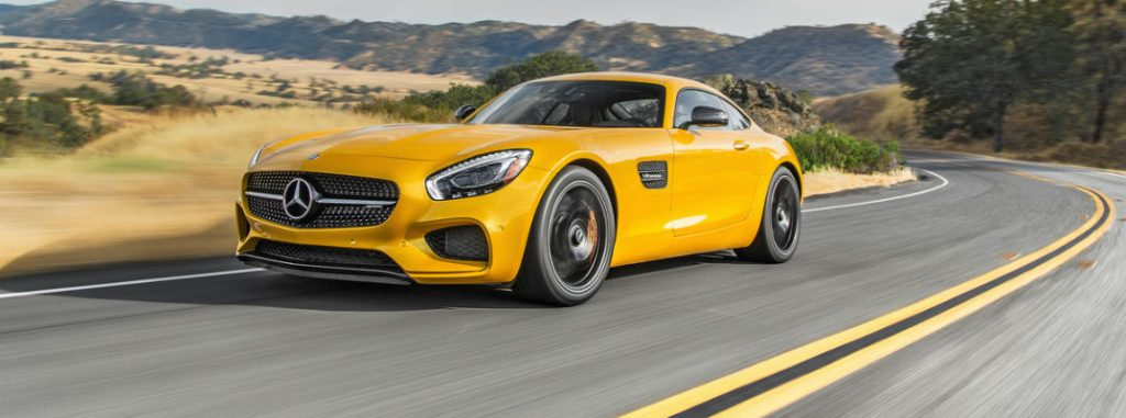 AMG® Solarbeam Yellow 2017 Mercedes-AMG GT S