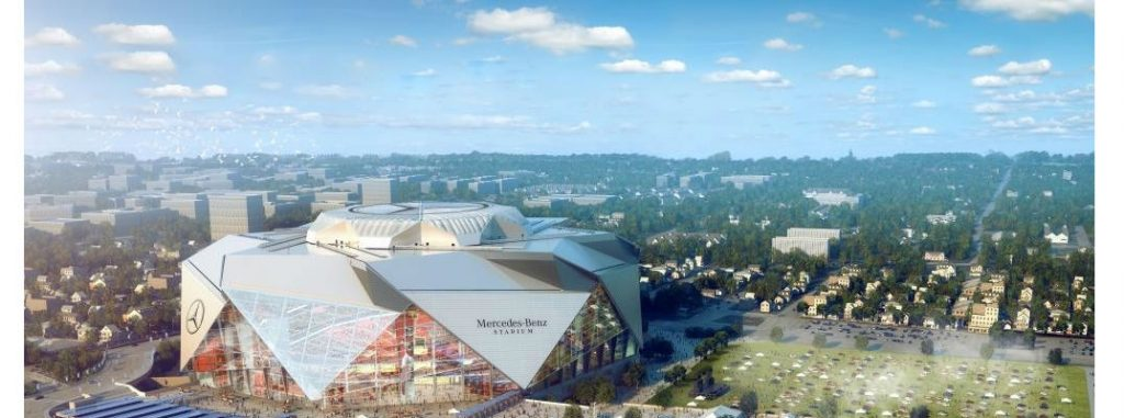 Does madden nfl 17 have atlanta falcons mercedes benz stadium for Who owns mercedes benz stadium