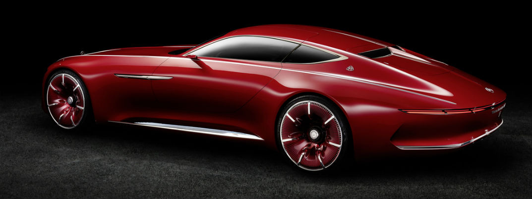 How long is the Vision Mercedes-Maybach 6?