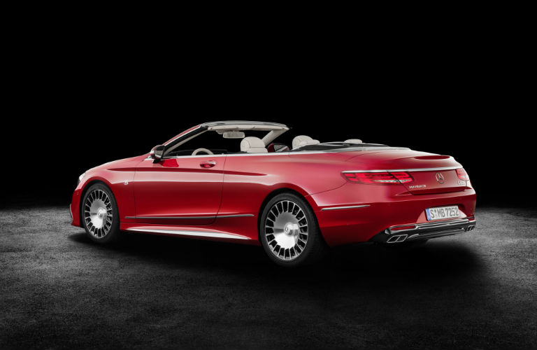 2018 maybach benz. fine maybach 2018 mercedesmaybach s650 cabriolet photo gallery   top down red exterior_o in maybach benz