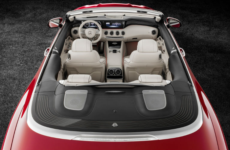 2018 Mercedes Maybach S650 Cabriolet High Angle View O Mercedes