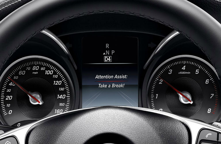 How safe is the mercedes benz c class for Mercedes benz attention assist