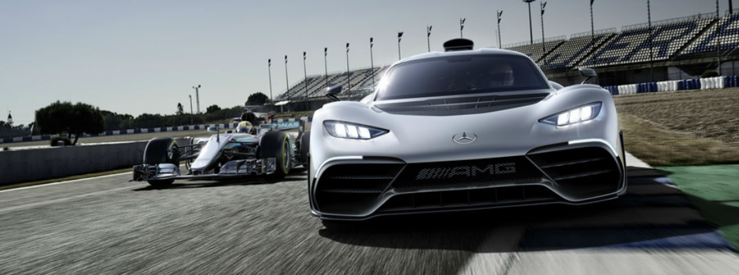 Mercedes-AMG Project One Showcar