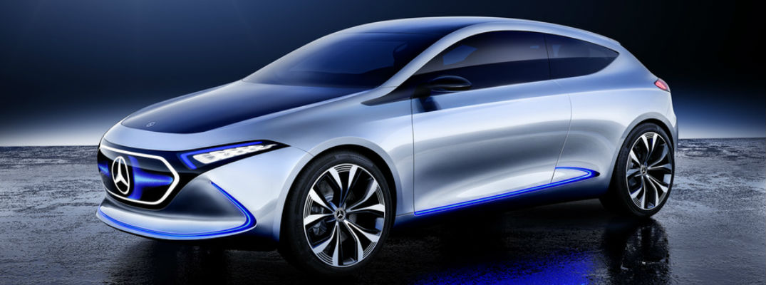 Mercedes benz eqa concept vehicle features and highlights for All electric mercedes benz