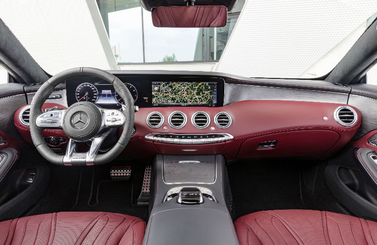 S Class Coupe >> 2018 S Class Coupe Red Command Center O Mercedes Benz Of Arrowhead