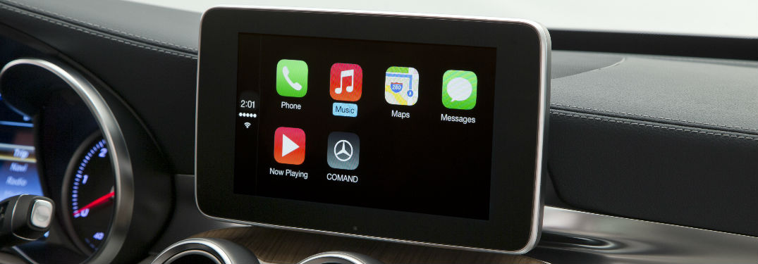 2017 mercedes benz gla250 upgrades for Mercedes benz apple carplay