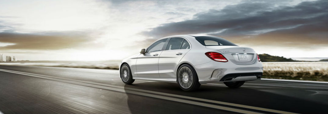 2018 E-Class Sedan in White Rear View