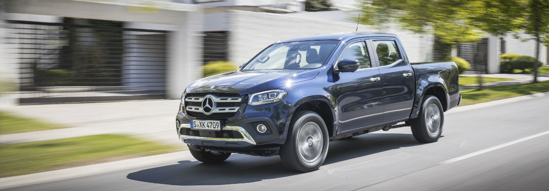 Mercedes-Benz X-Class in Blue