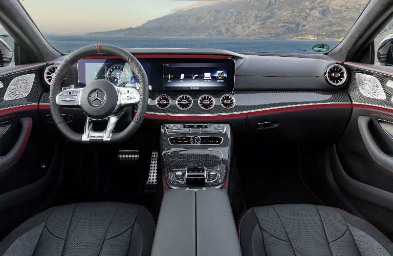 2019 AMG CLS 53 Coupe Command Center