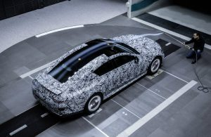AMG GT Coupe aerodynamics test