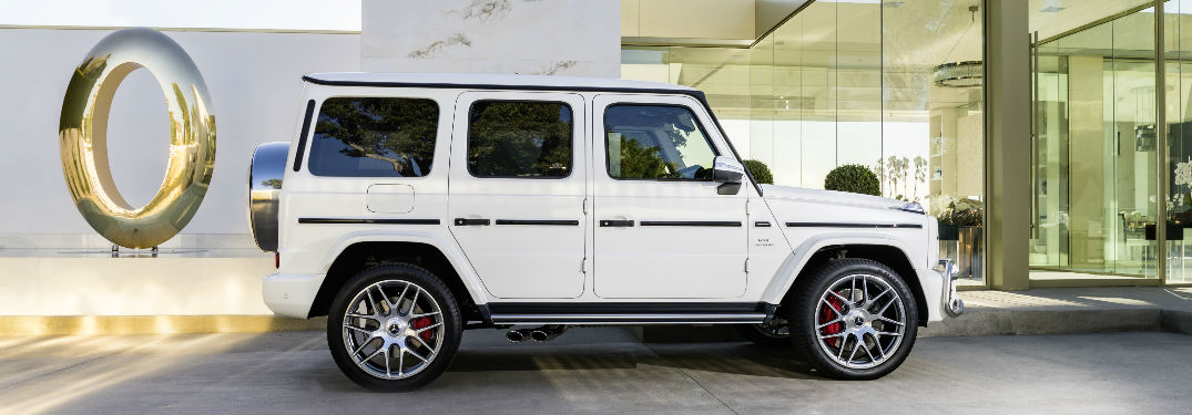 2019 AMG G 63 in White Side View