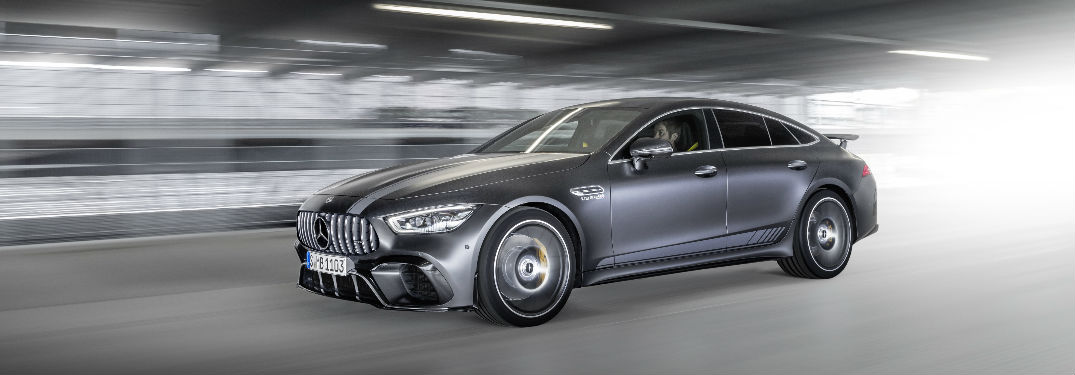 2019 AMG GT Edition 1 model in Silver