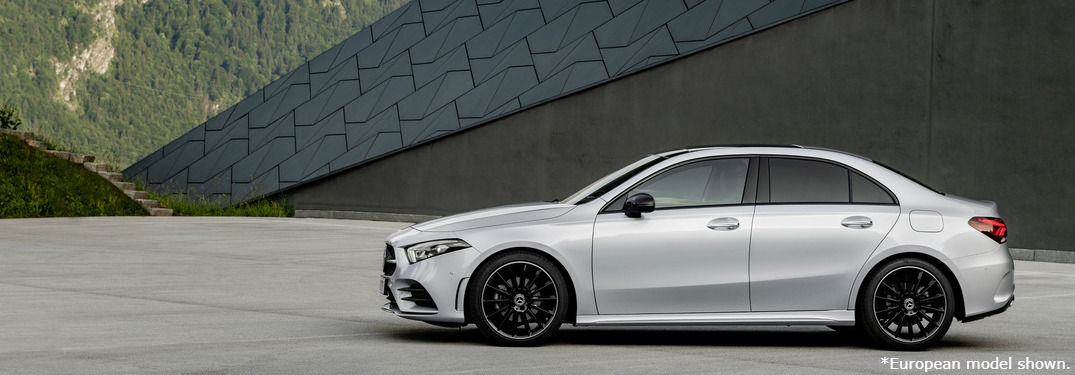 2019 Mercedes-Benz A-Class Sedan exterior driver side
