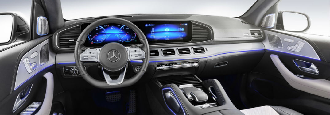 What are the driver-assist technologies in the 2020 MB GLE?