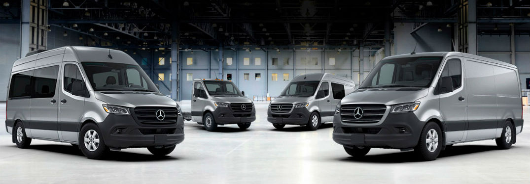 4 2019 MB Sprinter trims exterior front fascia passenger side and drivers side