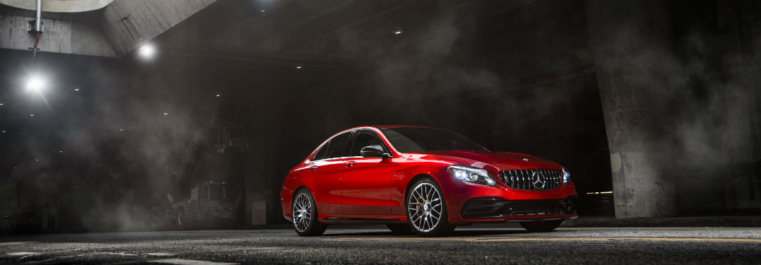 Which 2019 Mercedes-Benz vehicle accelerates the quickest?