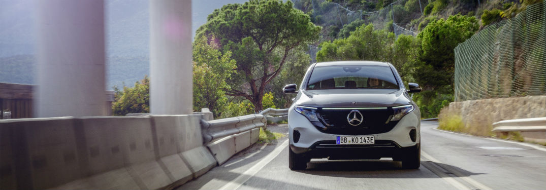 2020 Mercedes-Benz EQC Edition 1886 struts its stuff in this photo shoot!