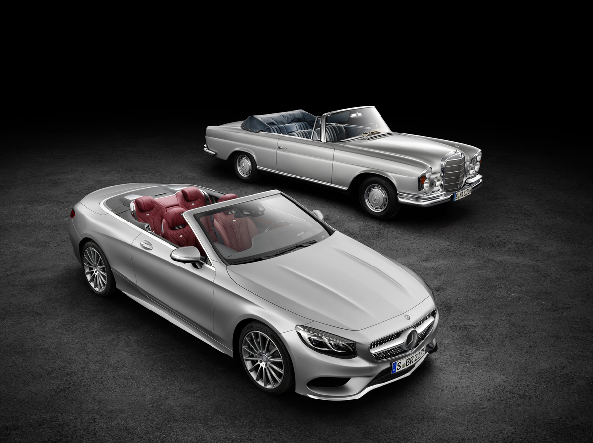 Mercedes-Benz introduced a new convertible after 44 years 60
