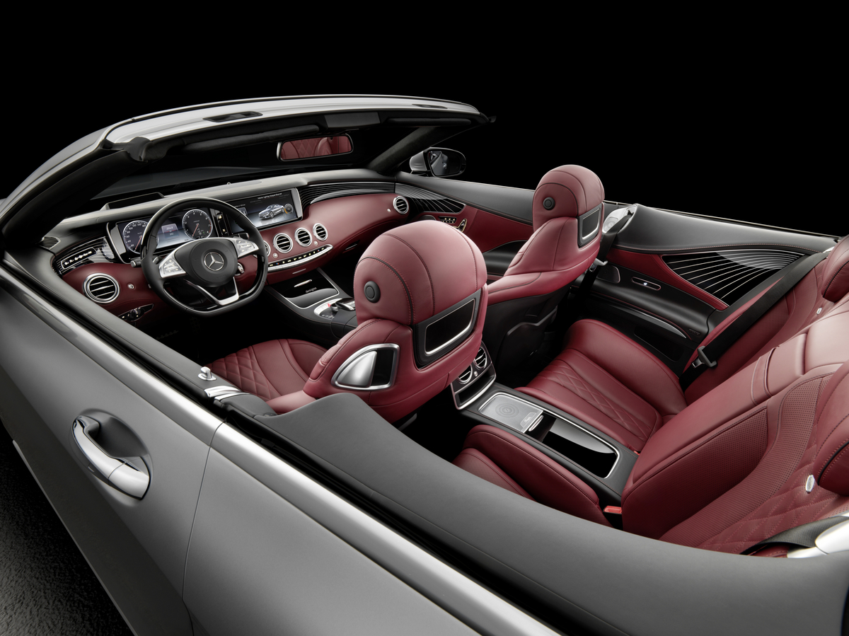 The all-new S-Class Cabriolet - Mercedes-Benz of Scottsdale