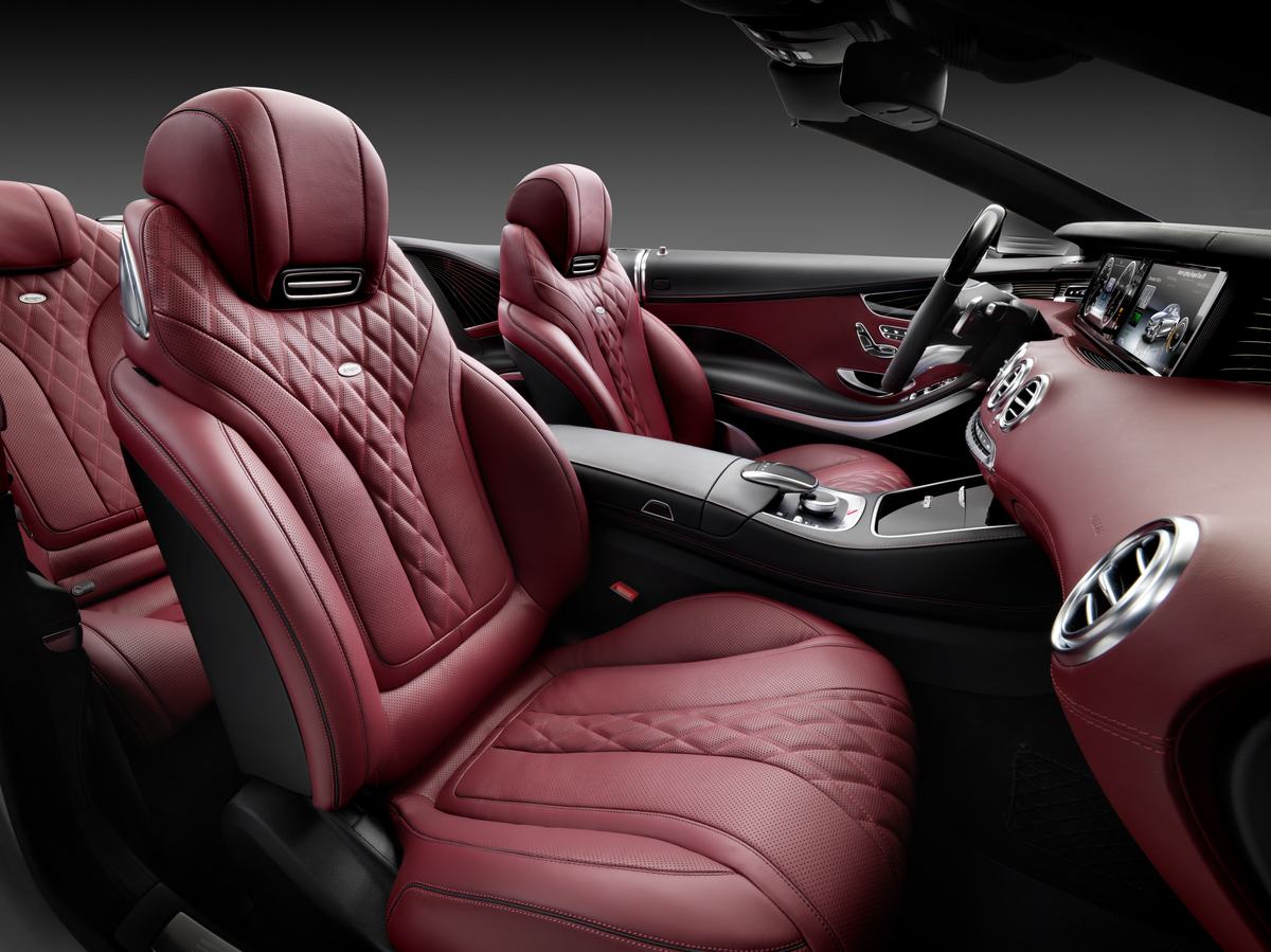 The all-new S-Class Cabriolet Interior - Mercedes-Benz of Scottsdale