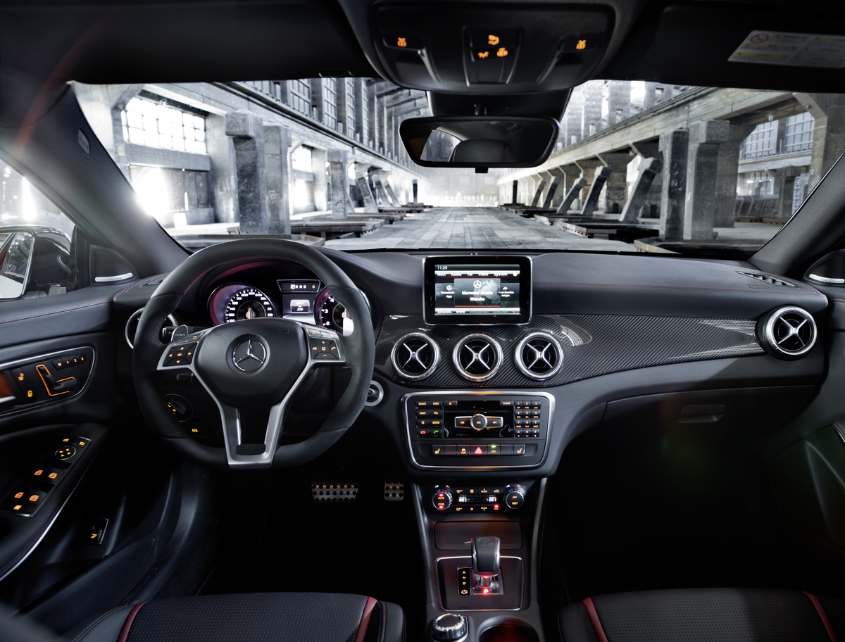 Wonderful CLA Class Interior