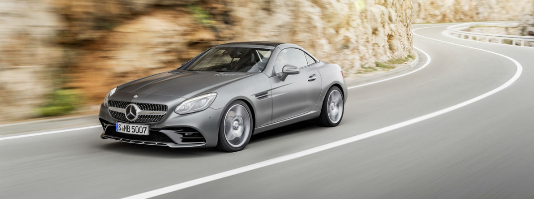 2017 Mercedes-Benz SLC Powertrain Specifications