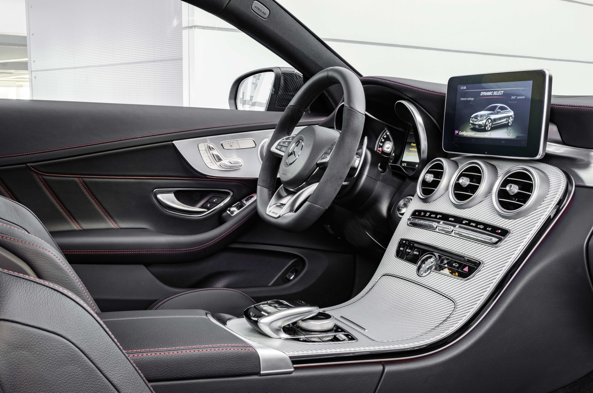 2017 C43 Coupe Black Leather Interior - Mercedes-Benz of Scottsdale