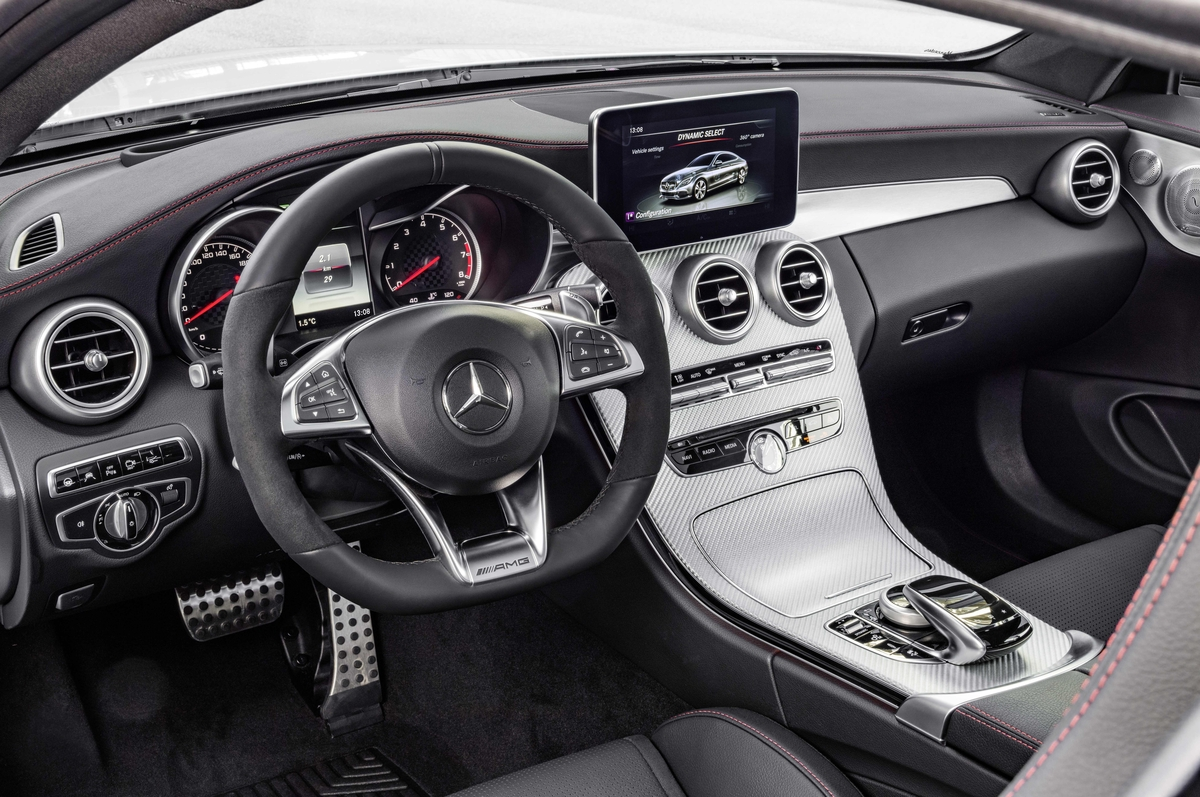 2017 C43 Coupe Steering Wheel - Mercedes-Benz of Scottsdale