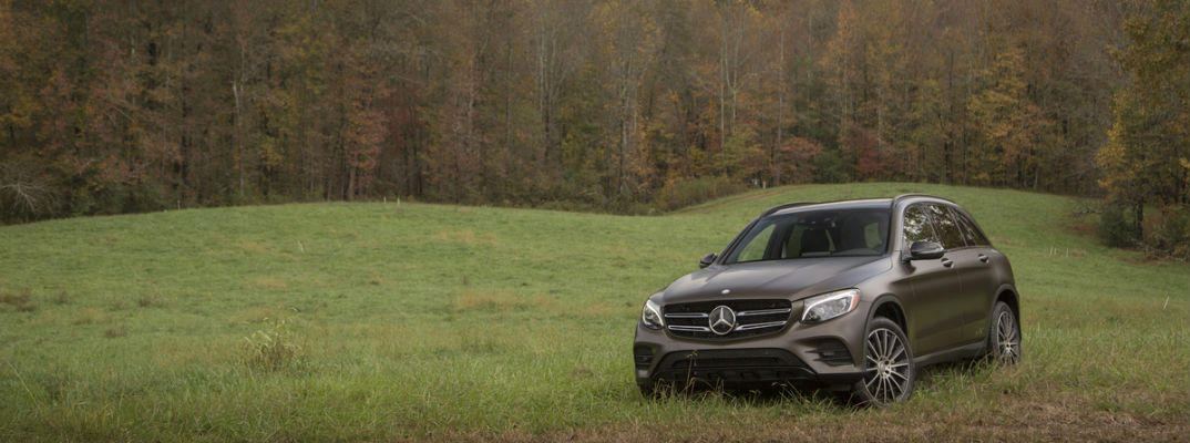 2016 Mercedes-Benz GLC Ground Clearance