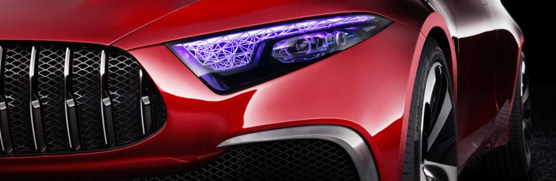 A First Look at the Mercedes-Benz Concept A Sedan