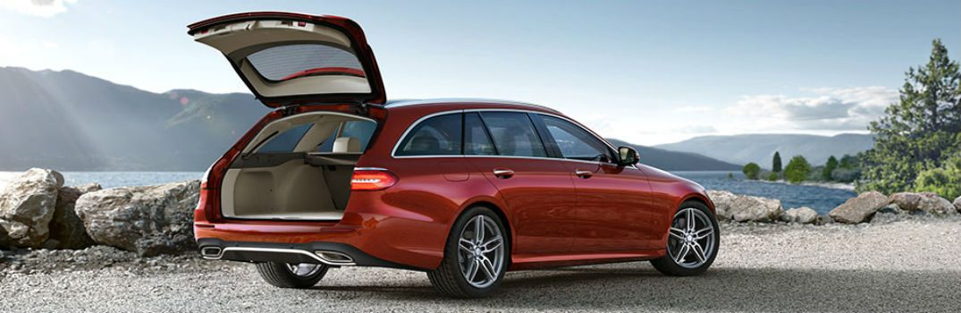 How much trunk space does the e class wagon have for How much is service b for mercedes benz