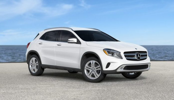 2018 mercedes benz gla color options for White mercedes benz suv