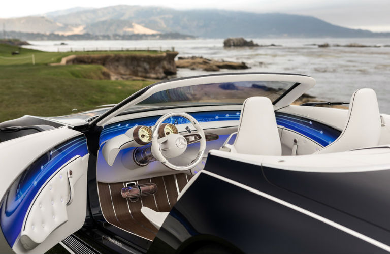 Vision Mercedes-Maybach 6 Cabriolet Driver Side Cabin
