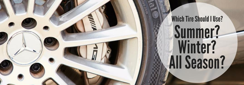mercedes-benz tire summer winter all season scottsdale