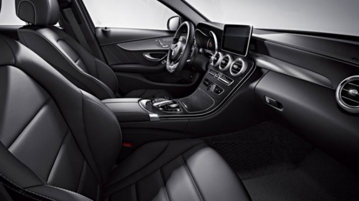 2018 c class sedan interior features and amenities for Mercedes benz remote start app